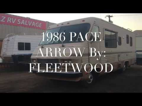 1986 Pace Arrow by Fleetwood at Arizona RV Salvage