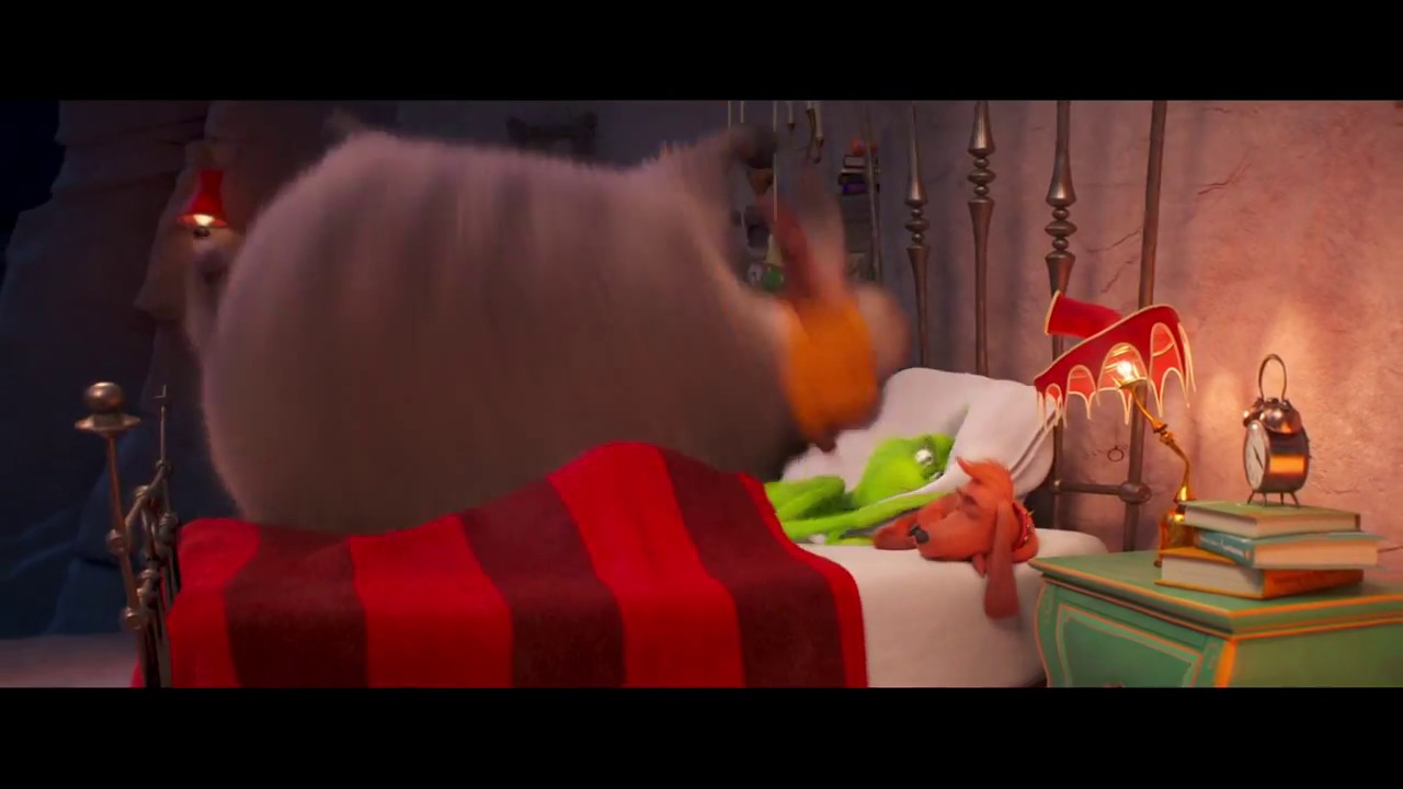dr seuss s the grinch 2018 clip fred and max jump in bed with the