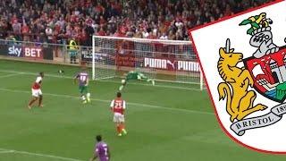 Goals: Fleetwood Town 3-3 Bristol City