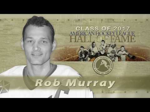 Ahl Hall Of Fame Rob Murray 2017 Youtube