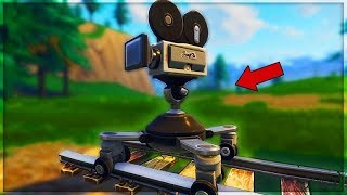 EMPLACEMENT OF THE CAMERAS on FORTNITE! Combat Pass Challenge