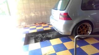 VW Golf GTI Mk4 1.8T stage 2 Dyno stand turbo k04