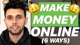 How To Make Money Online with NO MONEY  💸 (6 REAL Methods)