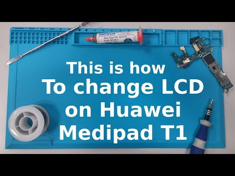 Huawei Mediapad T1 8.0 t1-821l LCD replacement