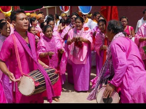 Yaosang Holi Festival Shree Govindajee Temple Imphal Manipur India 2016