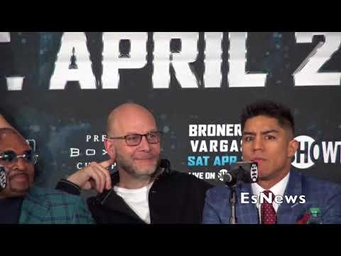 Intense Jessie Vargs Snaps On Adrien Broner At Presser EsNews Boxing