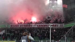 18.10.2015 Legia Warszawa - Cracovia 3:1 OPRAWA (WikiPasy.pl)