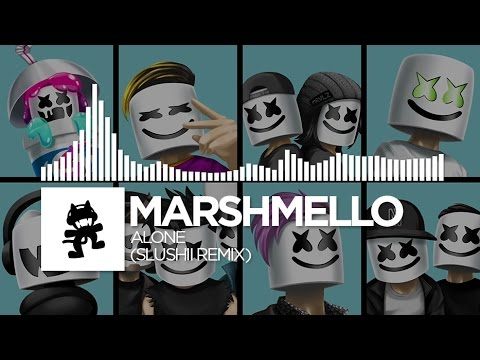 Marshmello - Alone (Slushii Remix) [Monstercat EP Release]