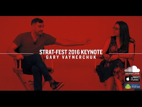 4A's Strat-Fest Fireside Chat 2016 | Gary Vaynerchuk