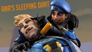 Ana's Sleeping Dart. [Overwatch animation]