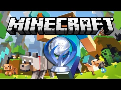 Obtaining Minecraft Platinum Trophy On Playstation