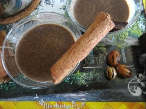 Recette antillaise: chocolat première communion (martiniquais)