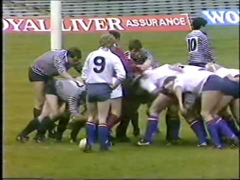 Rugby Special Yorkshire V Middlesex 1987