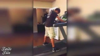 Treadmill Fail Compilation | Ultimate Fail Compilation 2016