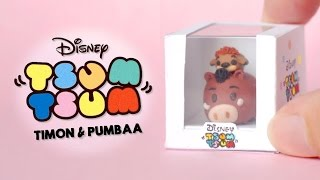 Pumbaa & Timon Tsum Tsum Tutorial | Collaboration with Candi Ware