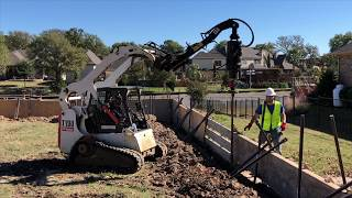 Helical Pier Installation - Helical Piles - New Construction Foundation Home Builder - Dallas Texas