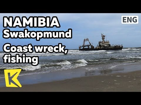 【K】Namibia Travel-Swakopmund[나미비아 여행-스바코프문트]해안가 난파선과 낚시/Skeleton Coast/Fishing/Wreck/Shipwreck Zeila