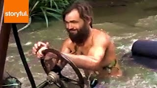 Crazy Inventor Drives Homemade Car Underwater (storyful, Auto)