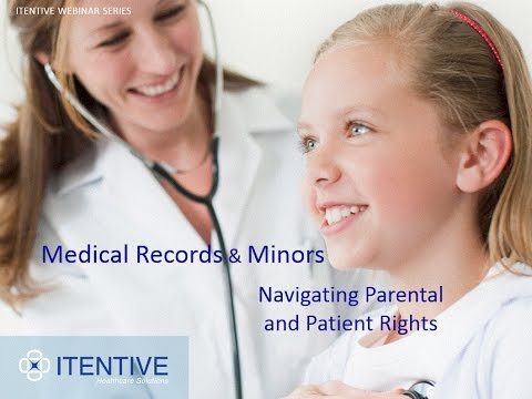 Medical Records and Minors - Navigating Parental and Patient Rights