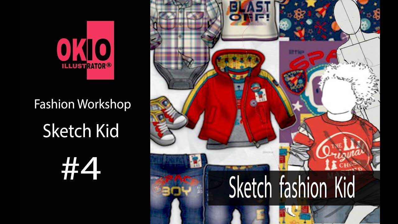 Vẽ Thiết Kế Thời Trang| Vẽ Nhân Thể Dáng ĐI Trẻ Em| Sketch fashion kid | Fashion Drawing | Tổng quát những thông tin liên quan vẽ thiết kế thời trang chi tiết