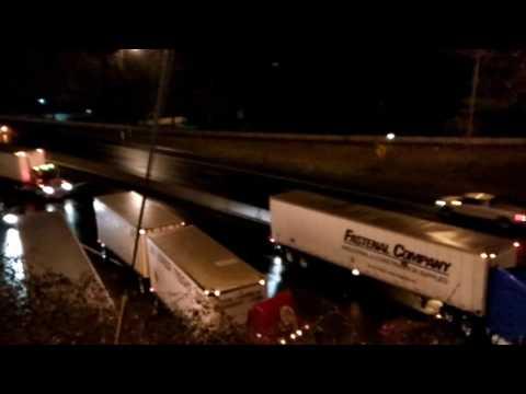 Fatal accidente en  freeway  5  Portland Oregón.