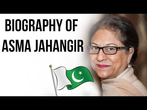 Biography of Asma Jahangir, Lawyer, Social activist & most robust voice for Human Rights in Pakistan