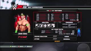 WWE 2K15 Complete Roster (Last Gen)