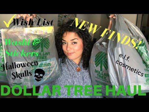 HUGE DOLLAR TREE HAUL | NEW FINDS | WISHLIST FINDS | SEPTEMBER 2017 | CRUZZINWITHCRYSTAL