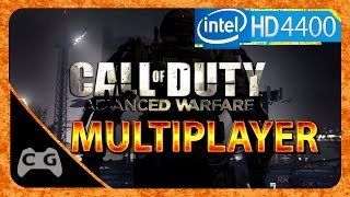 Call Of Duty: Advanced Warfare Gameplay Intel HD Graphics (Teste Multiplayer) #22