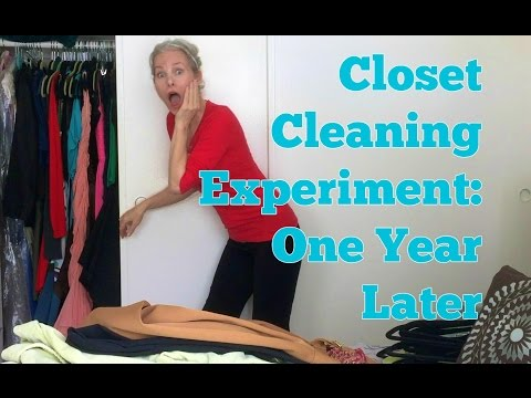 Closet Cleaning Experiment: One Year Later