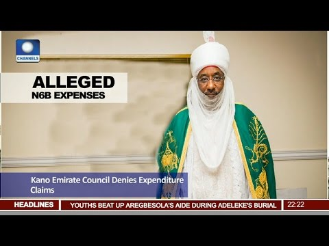 News @10: Kano Emirate Council Denies Expenditure Claims 24/04/17 Pt 2