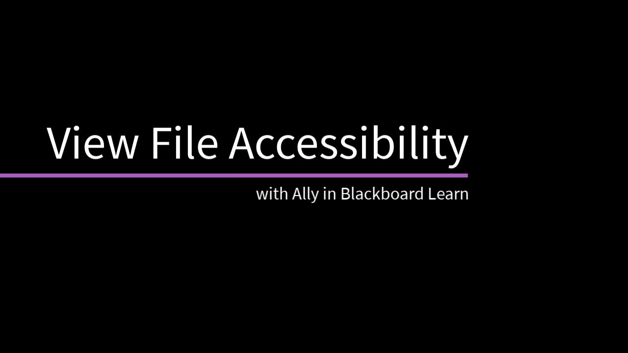 Edit and Manage Content | Blackboard Help