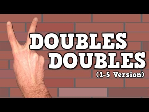 Doubles Doubles (I Can Add Doubles!)    (song for kids about adding doubles 1-5)