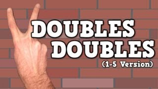Doubles Doubles (I Can Add Doubles!)    (song for kids about adding doubles 1-5) thumbnail