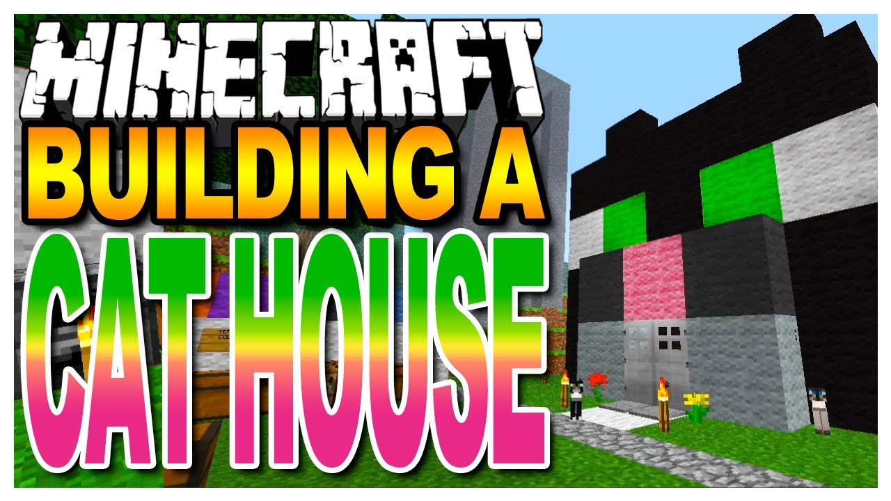Minecraft cat house tutorial easy build youtube for Easiest way to build a house