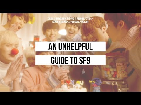 an unhelpful guide to sf9
