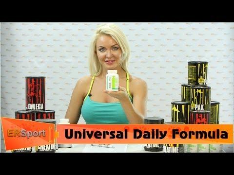 """Universal Nutrition - Daily Formula Спортивное питание """"Витамины и Минералы"""" (ERSport.ru)"""
