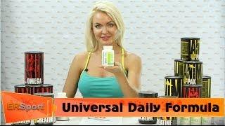 видео Витамины : Daily Formula 100 таблеток (Universal Nutrition)