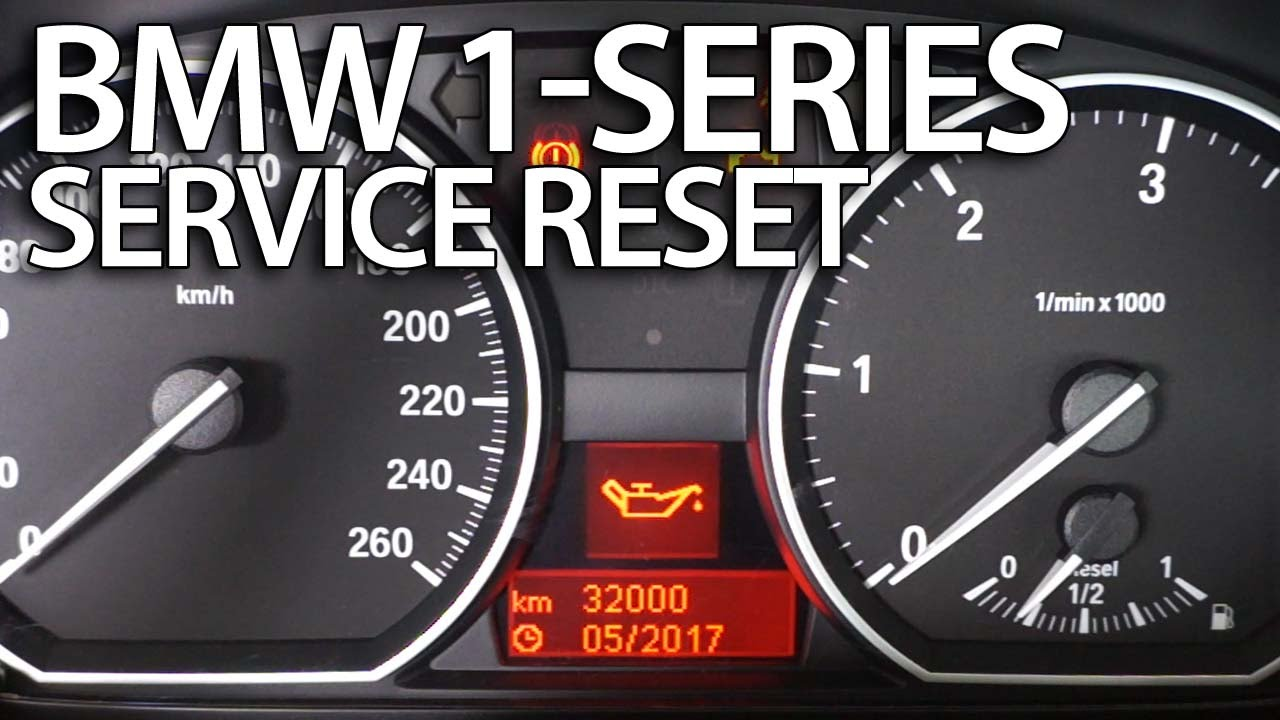 How To Reset Service Reminder In Bmw 1 Series E81 E82 E87