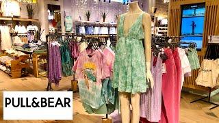 Яркая летняя новая коллекция в магазине Pull and bear Шоппинг влог Обзор Стильные вещи