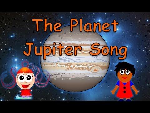 The Planet Jupiter Song | Planet Songs for Children | Jupiter Song for Kids | Silly School Songs