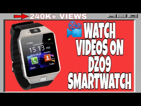 📽How to play video on DZ09 Smartwatch! 🎥{ Hindi }