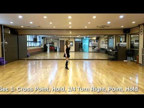 Adonde Voy Line Dance (Improver)