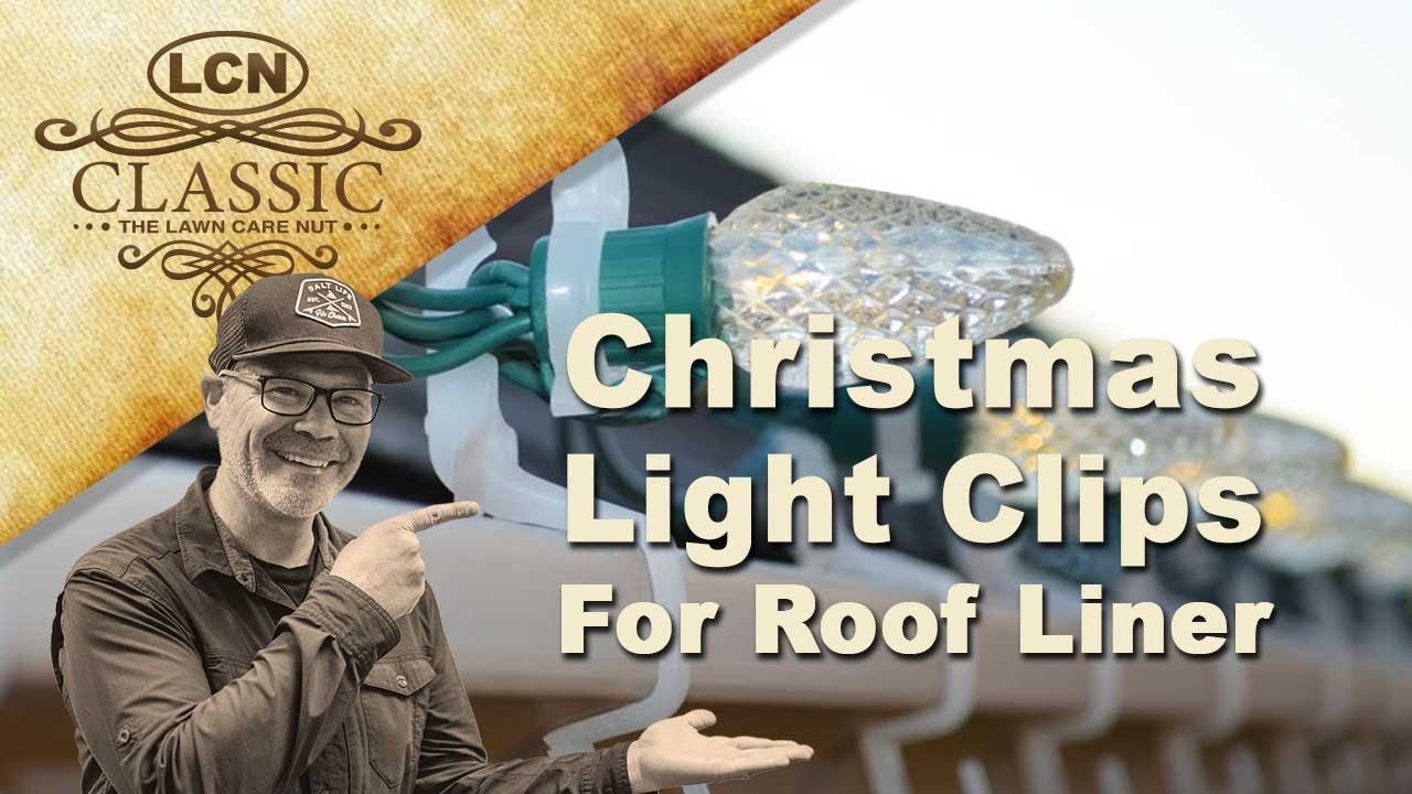 Christmas Light Clips For Roof Line Shingle And Gutter