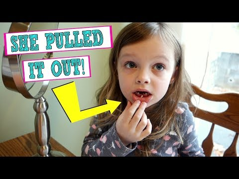 SHE PULLED OUT HER TOOTH! / VLOG / Mommy Etc