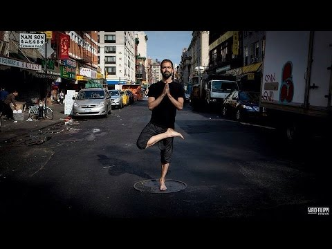 Yoga to open your heart by Javier Salinas