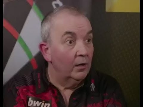 Phil Taylor wanted his Water and his Respect Again! - 2017 PDC Grand Slam