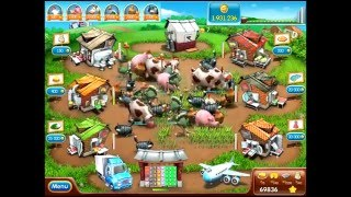 Repeat youtube video Farm frenzy 2 (Closing level)  unlimited survival in end plate 10 millions of money