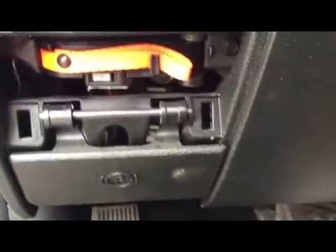 Shift lock release 2014 Dodge Ram