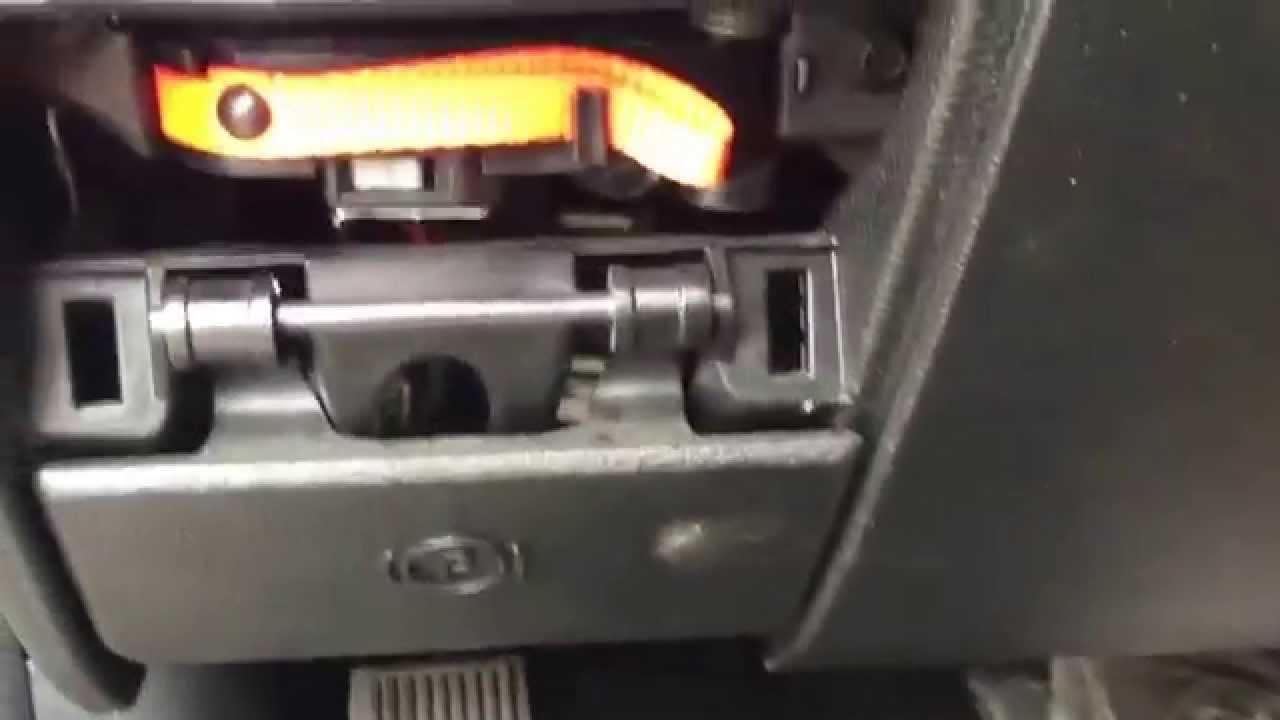 Shift lock release 2014 Dodge Ram  YouTube